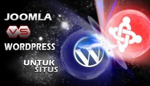 Joomla versus wordpress untuk situs