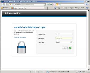 Mengubah URL Administrator Joomla