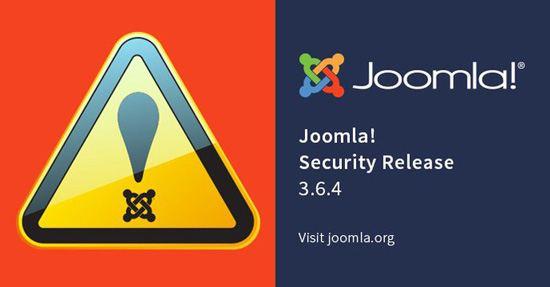 Update Joomla 3.6.4 Dirilis, Perbaiki Dua Isu Critical